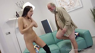 Katy rose and old guy