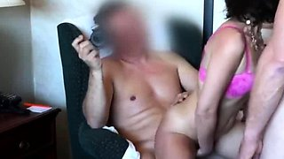 Husband Helplessly Watches His Mature Wife Vera Delight Fuck
