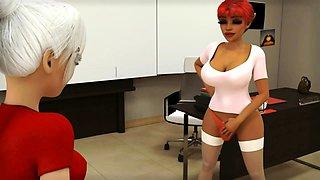 Black Cock Futa Teacher Fucks Teen Schoolgirl - 3D Animation