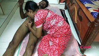 Desi Telugu Housewife Giving Her Husband A Blowjob