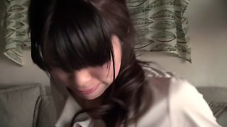 Incredible Japanese whore in Best Threesome, Cougar JAV video