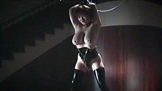 Incredible Japanese slut Marina Matsushima in Best Latex, Fetish JAV scene