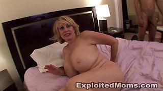 Huge boobed sexy GILF enjoying a BBC