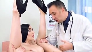 Gorgeous Babe Marley Brinx Has Oral Sex With Doctor