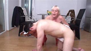 femdom ladies milking slaves