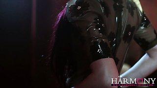 Horny Mira gets an intense DP and facials