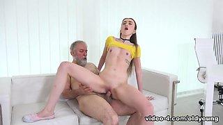 Vlada in Vlada gets her first taste of old man cock - OldGoesYoung