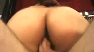 Asian midget fucked in her shaved pussy