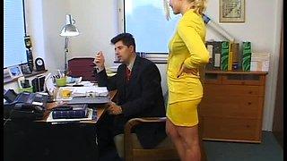 Secretary Spoils Stressed Boss