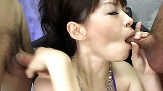 Hot Asian Princess Makes Do With Group Sex Bukkake