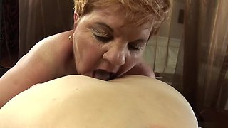 Horny pornstar in amazing lesbian, blowjob xxx scene