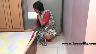 Indian Maid Without Bra and Panties