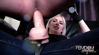 Femdom Massive Strap-on ANAL Fuck Trailer