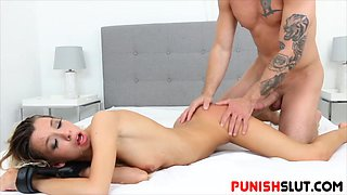 Restricted hoe Kenzie Reeves manhandled by eager bf