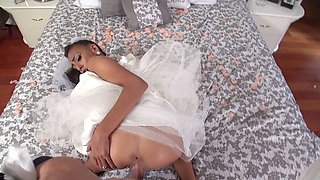 Bride Janice Griffith boned and facialed