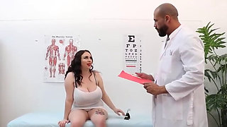 Busty BBW fucked by Doctor