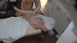 Sexy Massage Turns into Hardcore MILF Fuck with Orgasm