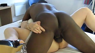 White Wife getting fucked in hotel by BBC Lover