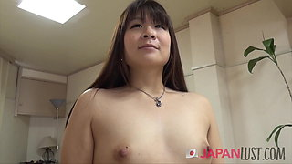 Small Tits Japanese Mom Spreads Pussy For Sex