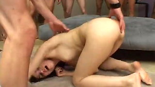 Brunette Sasha Takes On More Cocks Than I Can Count