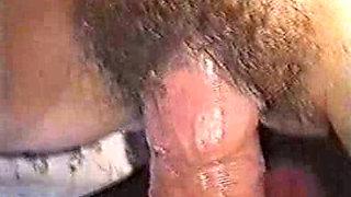 Shy Brunette Fucked By Older Man