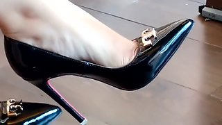 Shoeplay Dangling Fetish Stiletto High Heels Stilettos Retifism Dangling