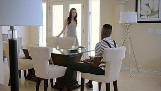 BLACKED Rich girl loves interracial bbc