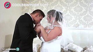 Bbw bride fucking big cock