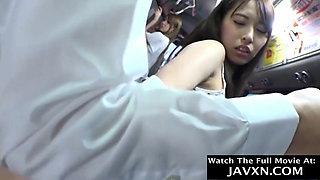 Slutty Japanese Teens On The Bus
