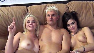 Charming wife Karmen Karma loves having threesome with Dallas Vick