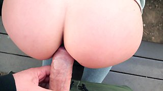 Amateur lady takes money and does dirty things on camera