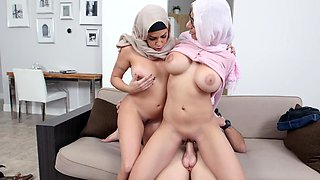 These Arab sluts simply like to get fucked and they got together