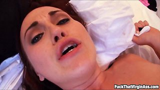 Ass virgin babe Josi Valentine anal fuck