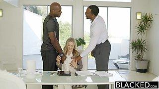 BLACKED Perfect Blonde With Karla Kush 2 ### Black Cocks