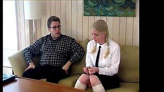 Punished schoolgirl