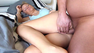 Cunning ass son fucked a drunk mother and cum inside her