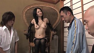 Sayoko Machimura is a totally naughty Japanese mistress and