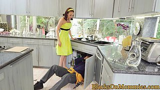BBC loving housewife was craving cock all day