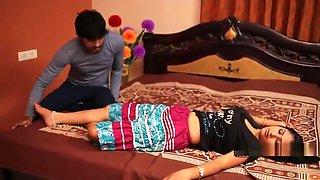 Teenage Drunken Lovers Hot Bedroom Romance