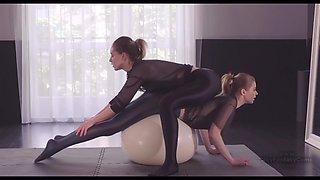 ASMR Gym pants rubbing
