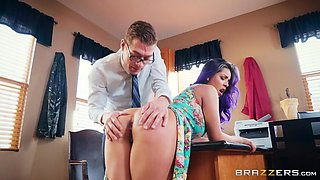 i fucked my sexy coworker on the office desk