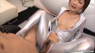 Horny Asian milf Yui Itano and friend in threesome