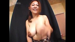 Asian big milk tits